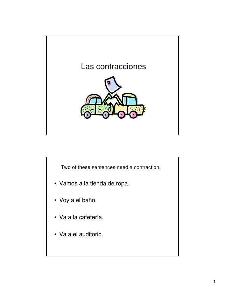 Combinations: A + el / DE + el