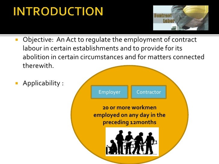 contract lbour and its implications Labour relations act the registrar of labour relations or any party to the made in respect of the state and that has financial implications for.