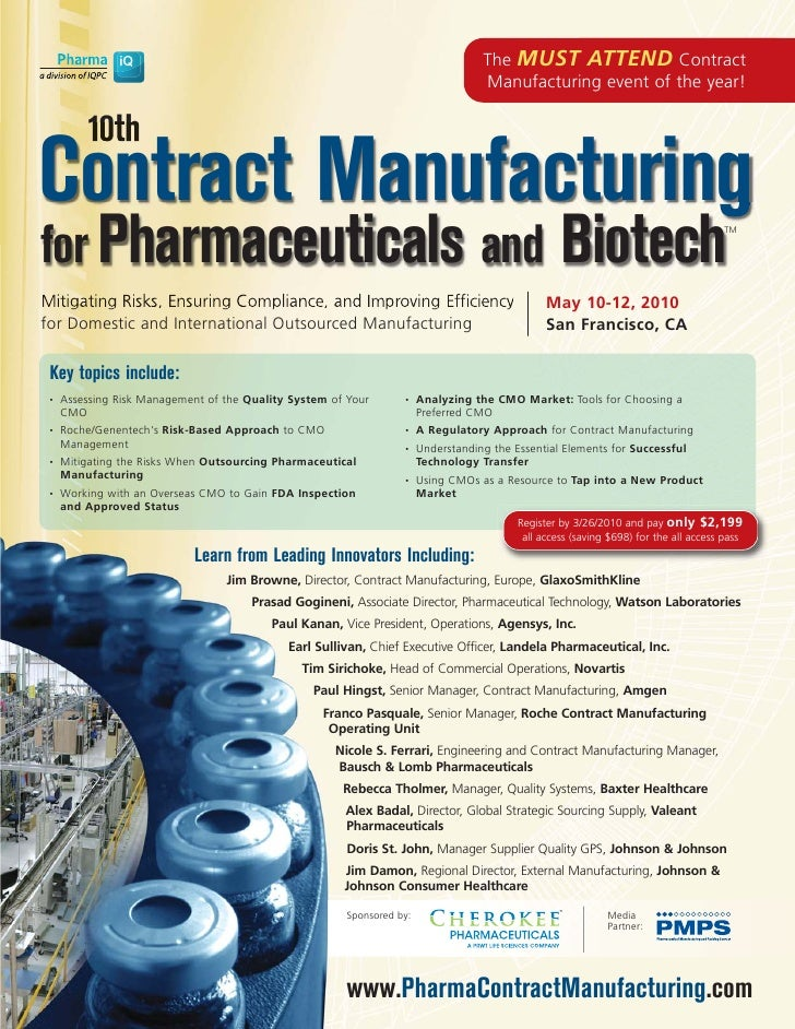 The MUST ATTEND Contract                                                                                    Manufacturing ...