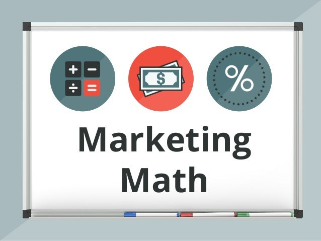 marketing math Teachers college program in mathematics academic viral marketing the teachers college mathematical modeling handbook is intended to support the.