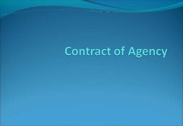Agent and PrincipalA person employed to do any act foranother orTo represent another in dealings withThird Person called...