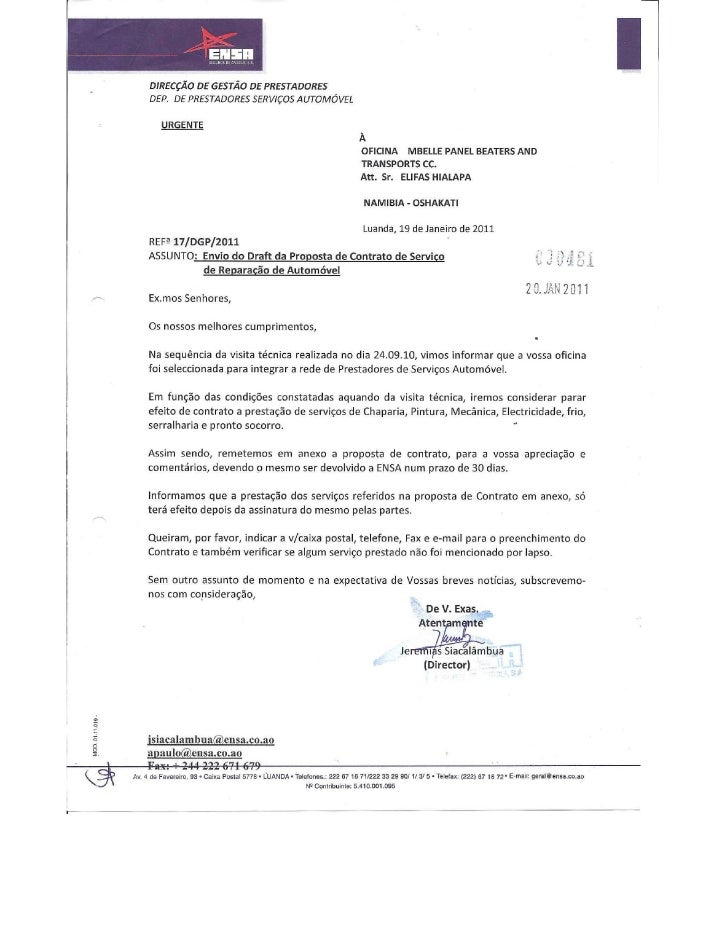 Contract of belle