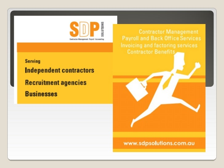 SDP SolutionsContractor Hub ◦ What is it ◦ How to access it ◦ How to complete the on-boarding process