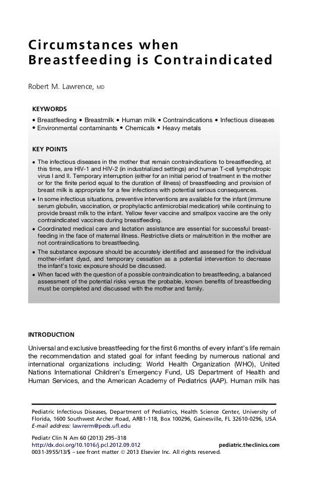 Contraindicacion de lm