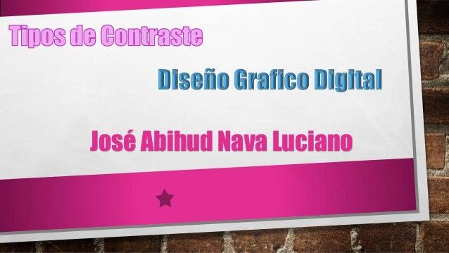 José Abihud Nava Luciano