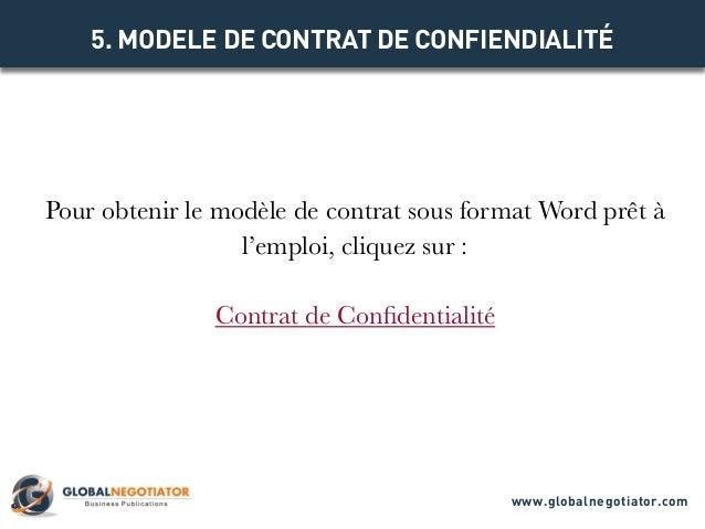 Contrat de confidentialite mod le de contrat et exemple for Chambre de commerce internationale arbitrage