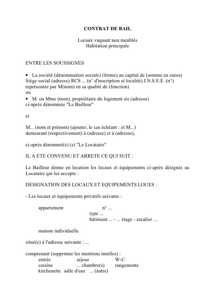 Modele lettre resiliation de bail meuble proprietaire document online - Le courrier du meuble ...