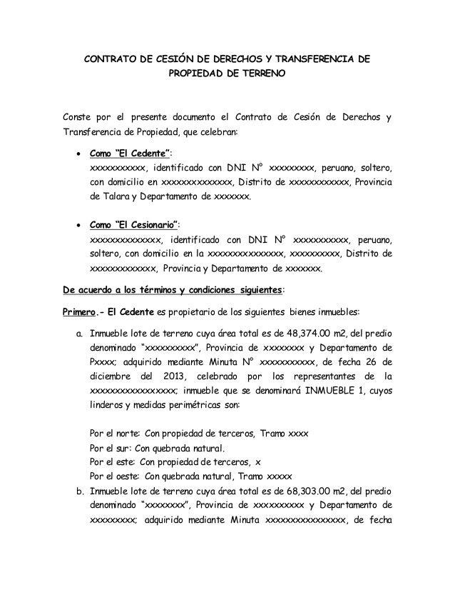 derecho de contrato: