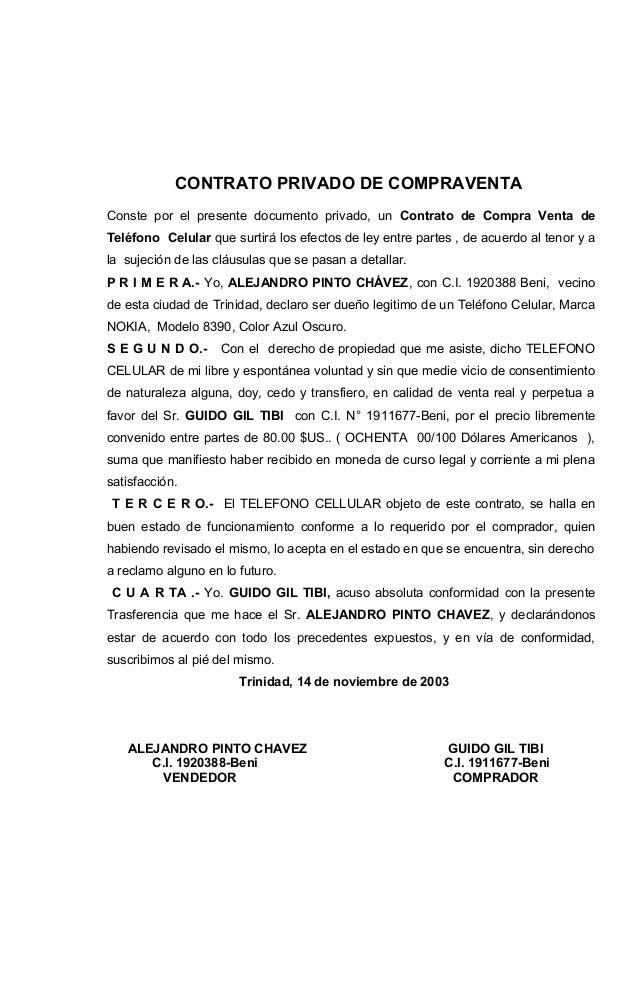 Contrato de compra de vehiculo for Contrato documento