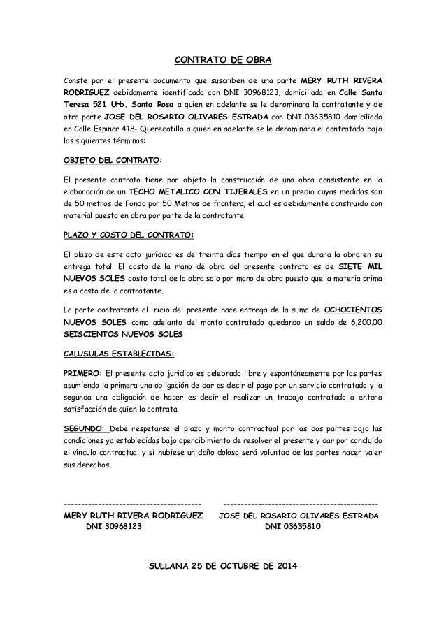 Formato modelo o ejemplo de contrato de promesa for Modelo contrato empleada de hogar 2016