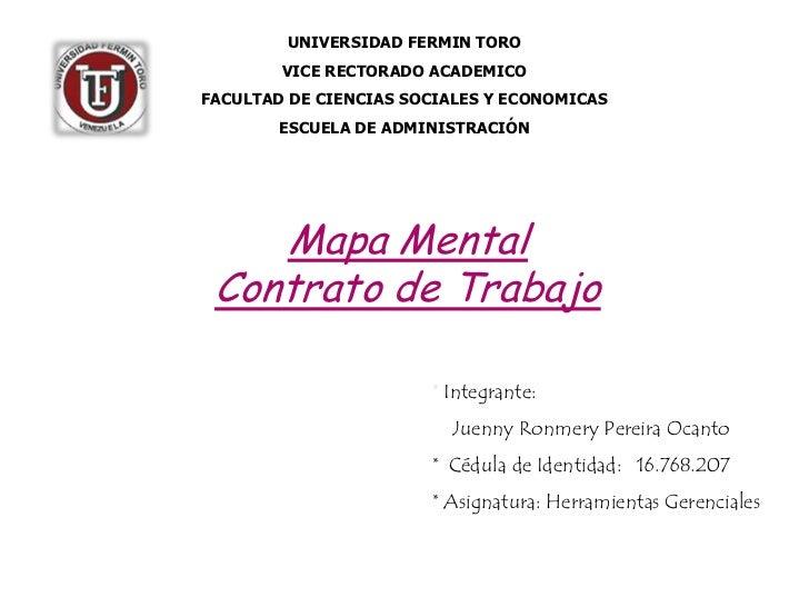 UNIVERSIDAD FERMIN TORO        VICE RECTORADO ACADEMICOFACULTAD DE CIENCIAS SOCIALES Y ECONOMICAS        ESCUELA DE ADMINI...