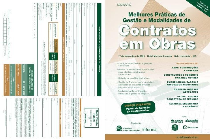 Contratos Em Obras