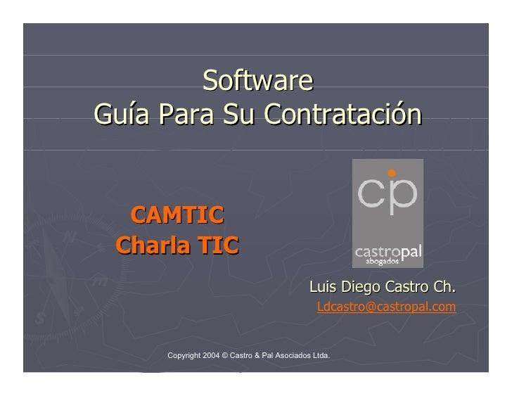 Software - Guía Para Su Contratación