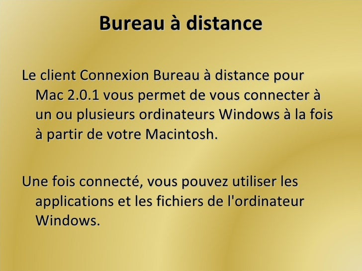 Contr le d 39 un ordinateur distance - Activer le bureau a distance windows 7 ...