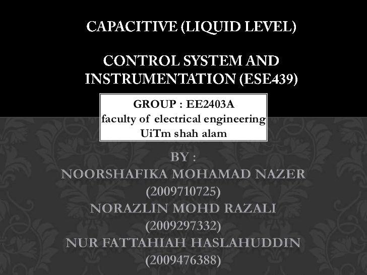GROUP : EE2403Afaculty of electrical engineering        UiTm shah alam