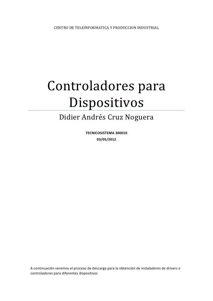 Controladores