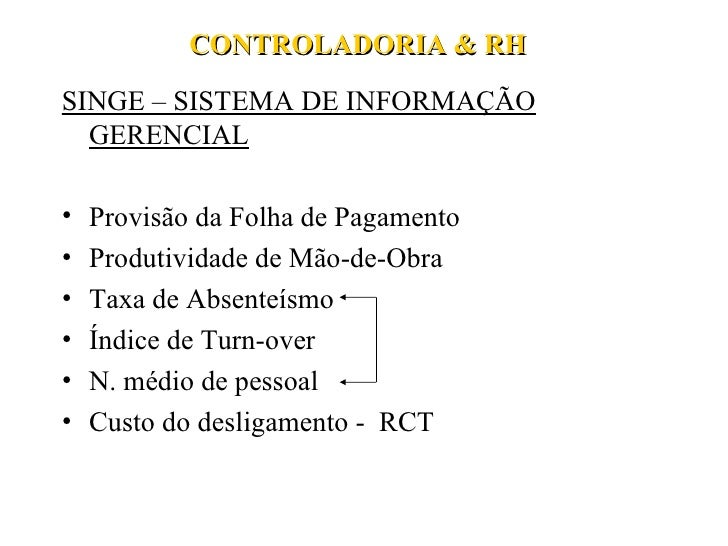 Controladoria & Rh