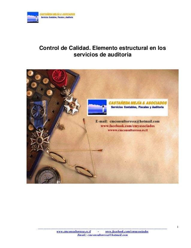 elemento control: