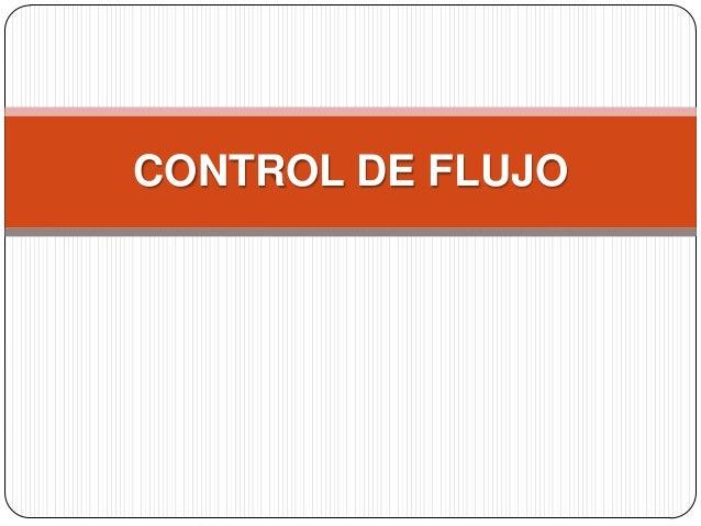 Control de flujo en Telecomunicaciones