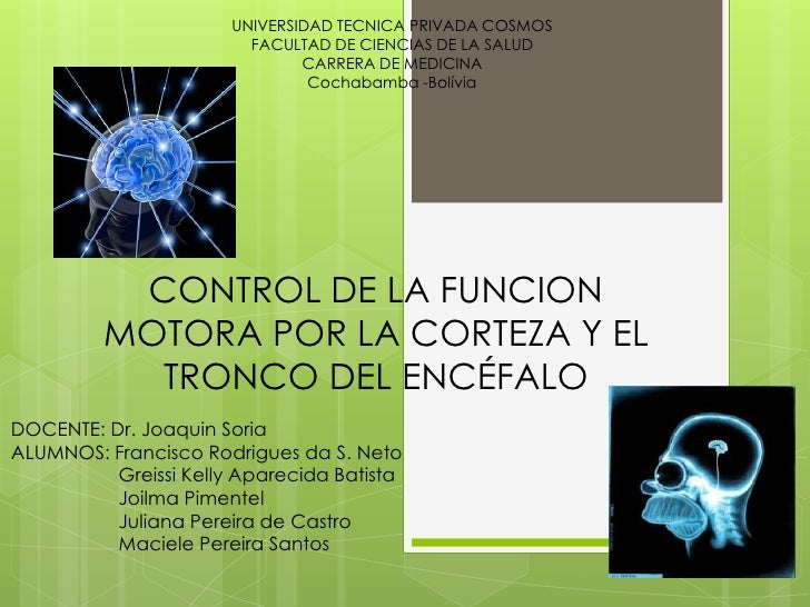 UNIVERSIDAD TECNICA PRIVADA COSMOS                         FACULTAD DE CIENCIAS DE LA SALUD                               ...