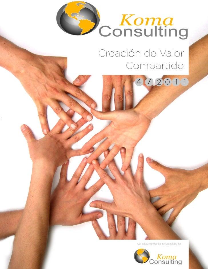 Creación de Valor     Compartido       Un documento de divulgación de