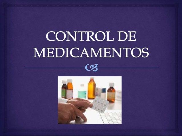   Guarde los medicamentos en sus envases originales. Evitará confundir unos medicamentos con otros de apariencia similar...