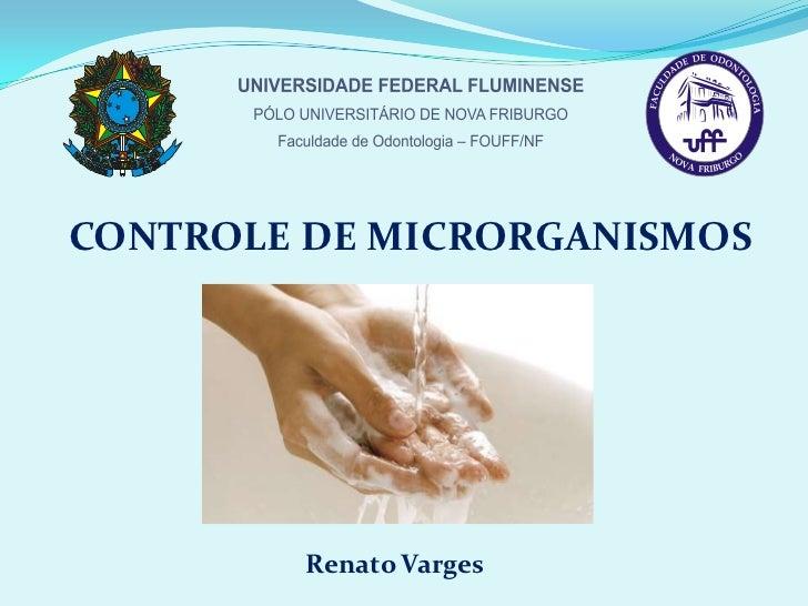 Controle microbiano - Renato Varges