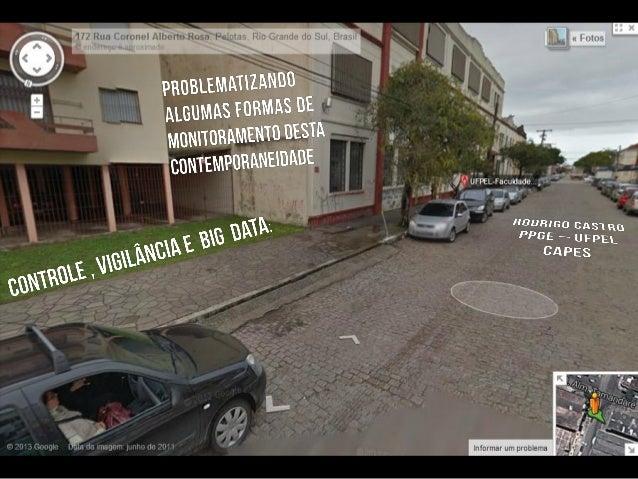 Controle, Vigilância e Big data