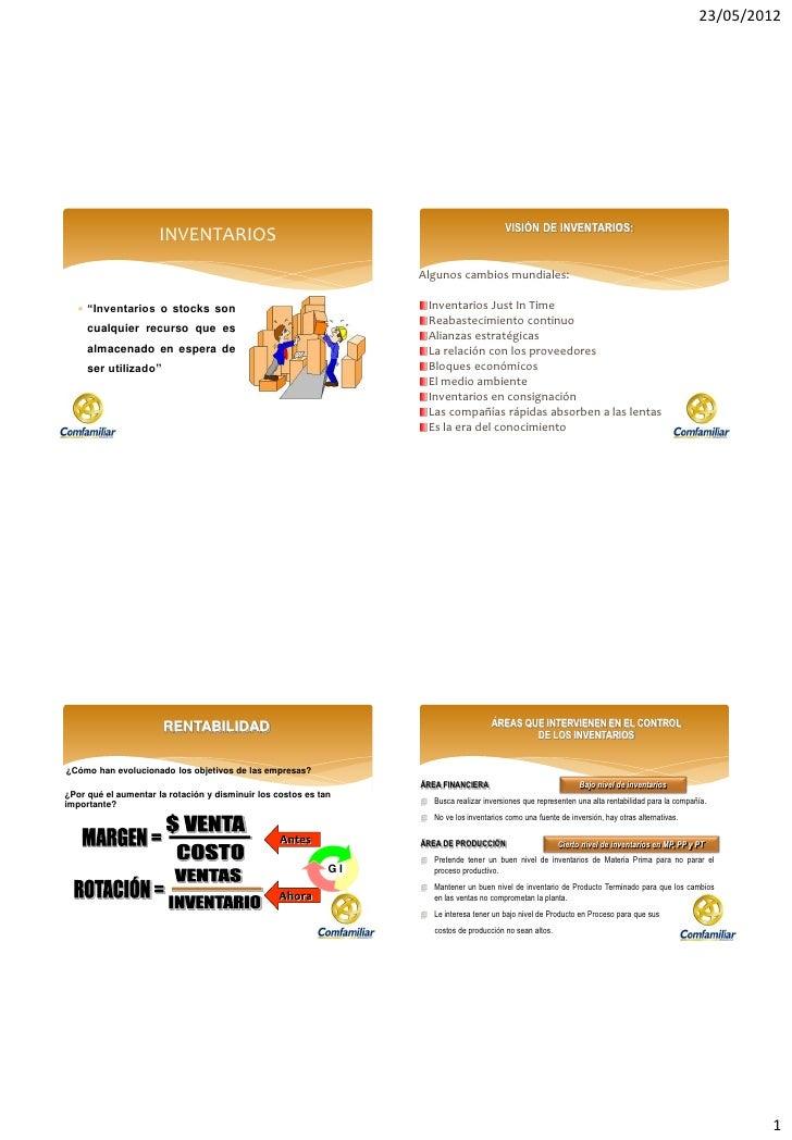 23/05/2012                                                                                            VISIÓN DE INVENTARIO...
