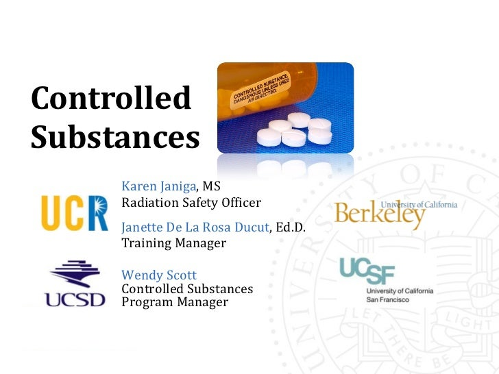 controlled substance A controlled substance is a drug, compound, preparation, mixture, or substance contained in schedule i, ii, iii, iv, or v this list is updated annually and substances are put into their schedules based on the substances current medical use, abuse potential and likelihood of causing dependence when abused.
