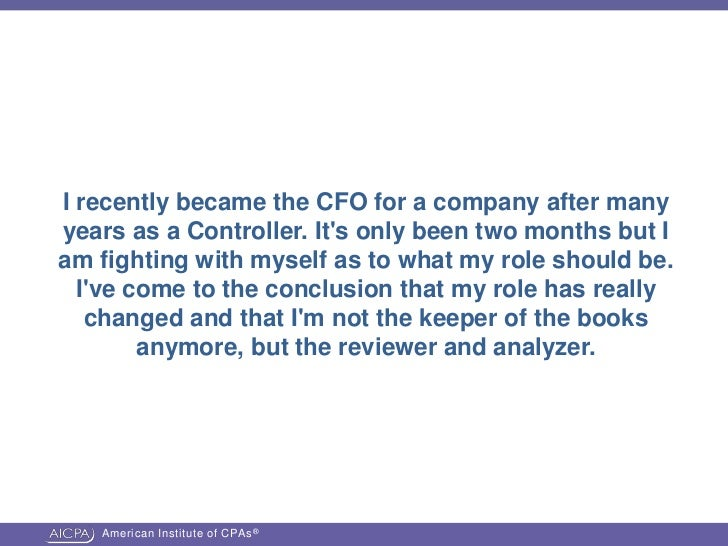 the responsibility of the cfo Don't forget to include those special issues that pertain specifically to your nonprofit's mission, plus information on: governance policies (so that all board members are reminded about their legal and fiduciary duties) accountability practices (such as the need to disclose conflicts of interest) and the responsibility to hire, review the.