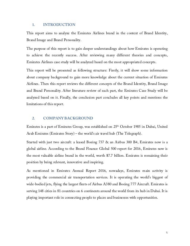 a case study of emirates airline Emirates airline – 2010  paper type case study  moreover, emirates has received more than 400 international awards in recognition.