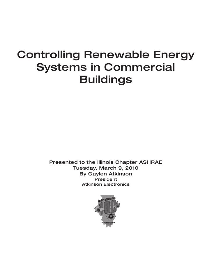 Controlling renewable energy systems
