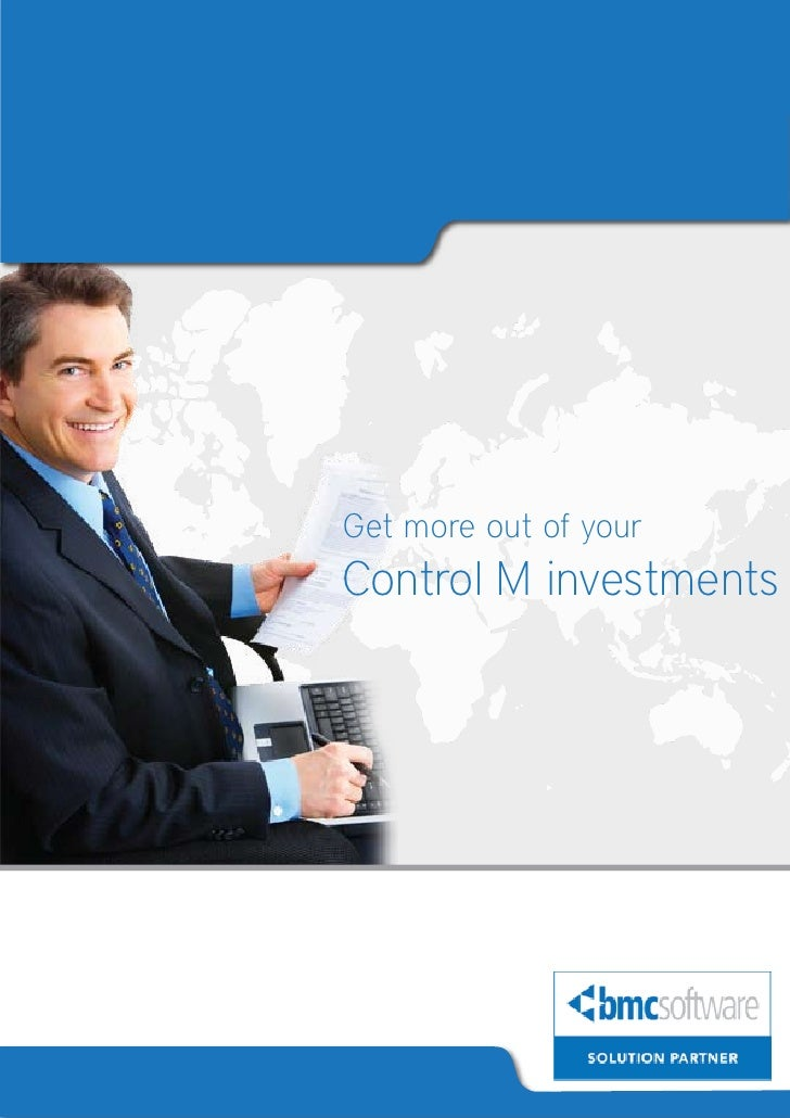 Control M Monitoring and Management services