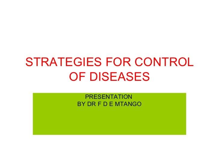 Control of diseases and economic development 2