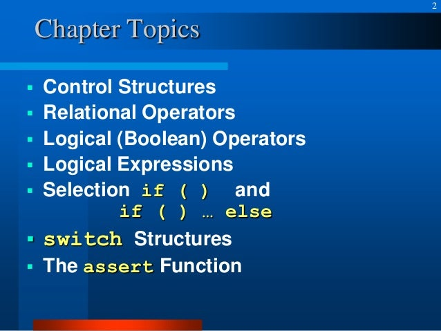 programming control structures The repetition control structure the repetition control structure is also known as the looping or iteration control structure looping is the process of repeatedly executing one or more.