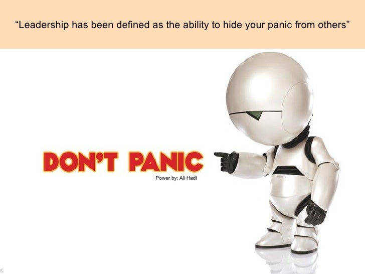 Control your panic