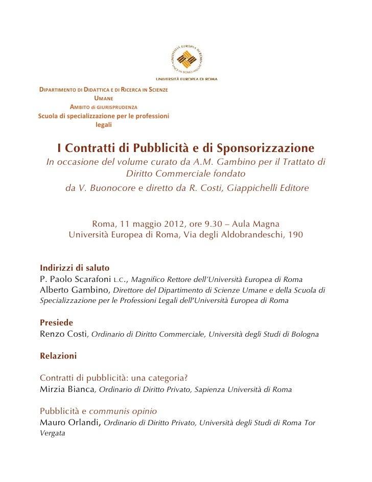 DIPARTIMENTO DI DIDATTICA E DI RICERCA IN SCIENZE                                    UMANE      ...