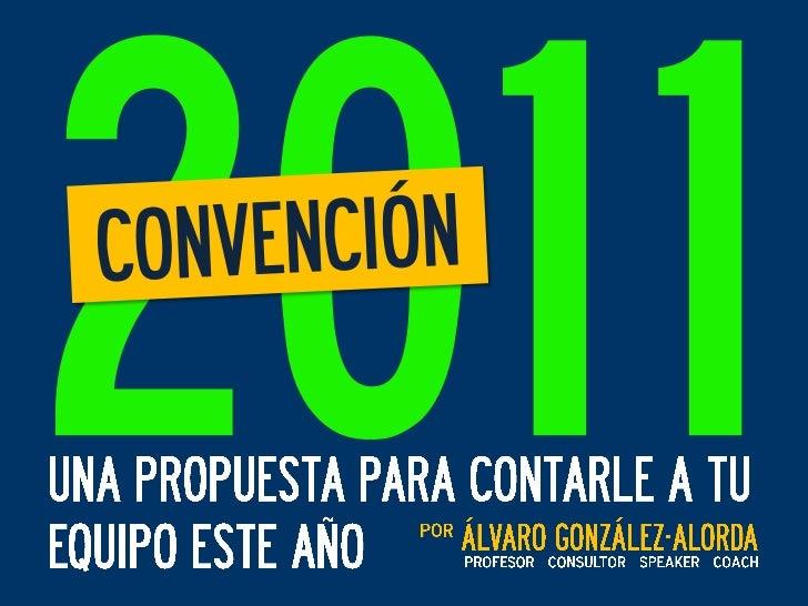 CONVENCION 2011 - speaker / conferenciante / conferencista