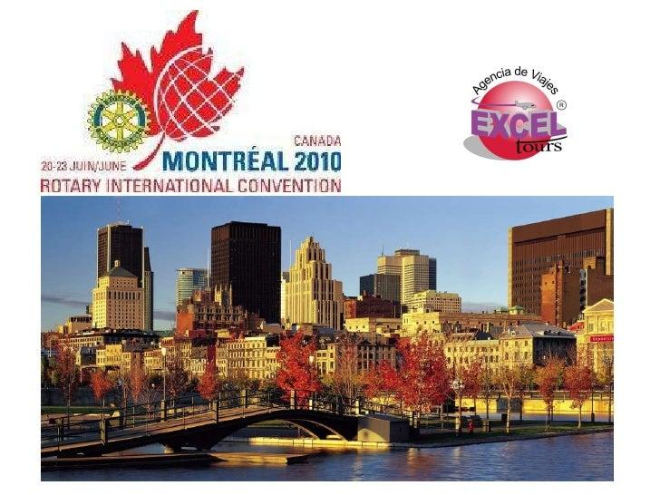 Convencion Rotarios Internacional  Montreal 2010