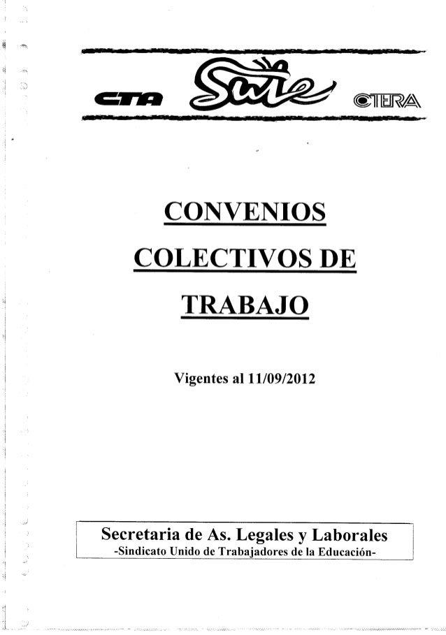 Convenios colectivos de trabajo paritarias archivo