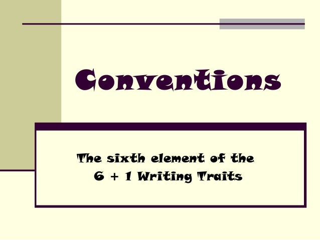 Conventions.ppt 0