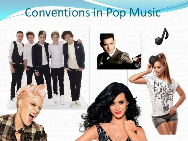 Conventions in Pop Music