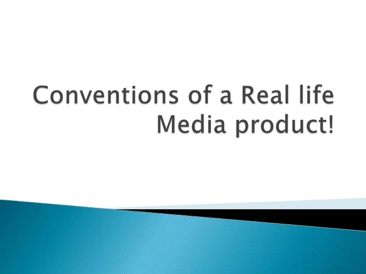    We decided to reject this    convention as we wanted to get    the message across through    real life footage.   We ...