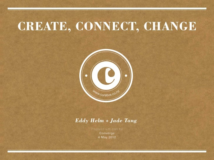 Curative | Create, Connect, Change