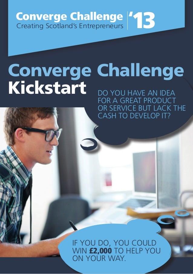 Converge kick start