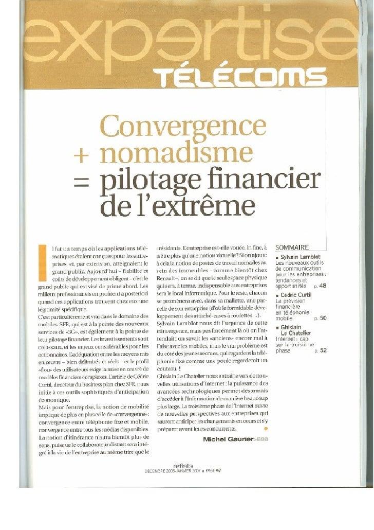 Convergence - january 2007