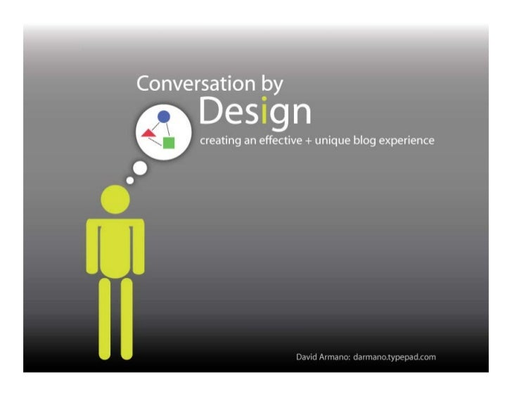 Conversation by Design