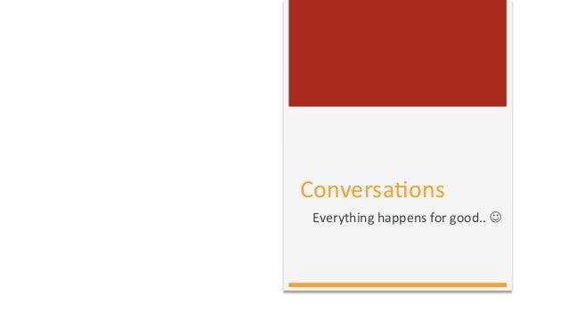 Conversation - a case of Crisis Management on Social Media