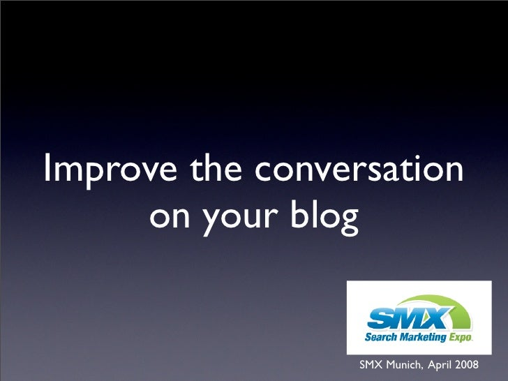 10 steps to improve to conversation on your blog